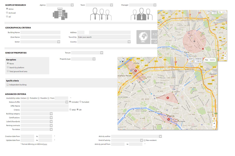 Logi-Pro real-estate search engine